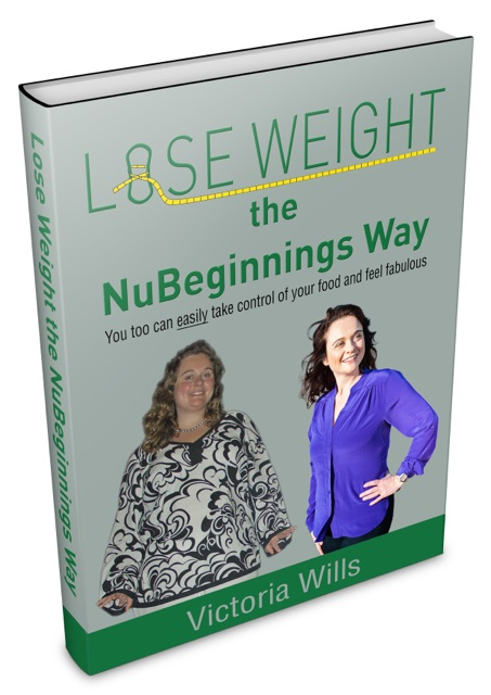 Lose Weight the NuBeginnings way - book cover